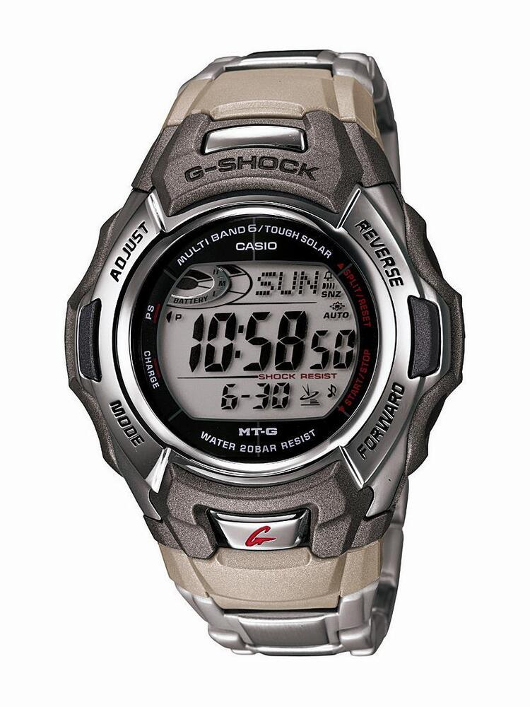 Casio men 39 s mtgm900da 8 g shock tough solar stainless steel digital watch 79767975227 ebay for Watches g shock