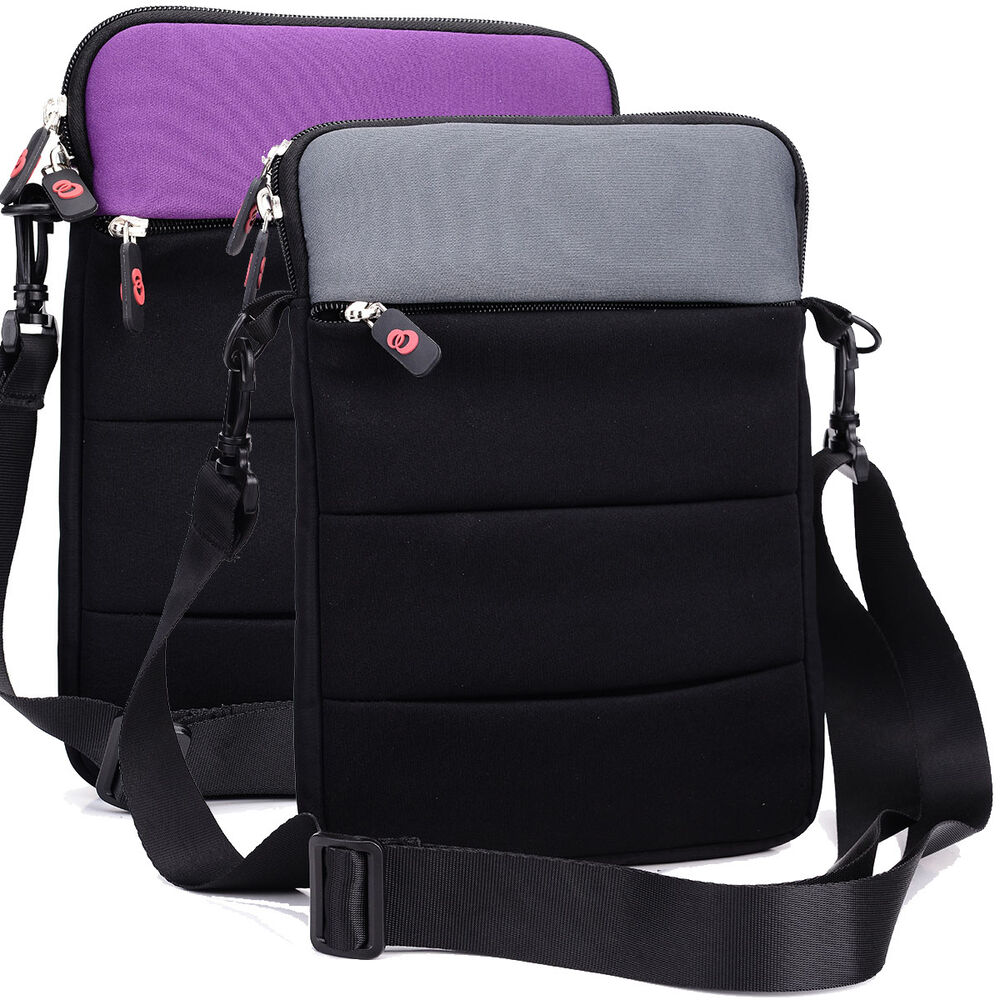 12 13 Inch Convertible Protective Tablet Sleeve And Shoulder Bag Cover Ebay