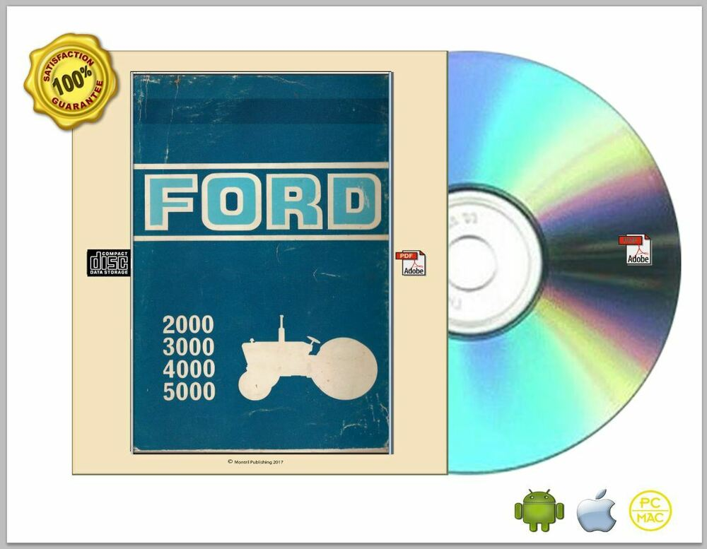 Ford tractor service manual 1965 1975 series 2000 3000 40007000 ford tractor service manual 1965 1975 series 2000 3000 40007000 pdf cdrom ebay fandeluxe Choice Image