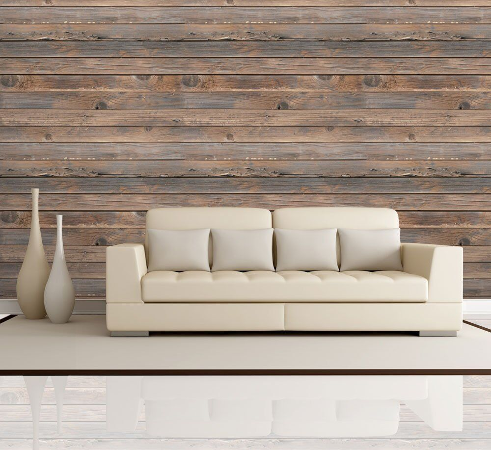Wall26 horizontal brown wood textured paneling wall for Horizontal wood siding panels