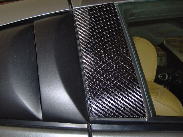 350z Coupe Solid Carbon Fiber B Pillar Covers Ebay