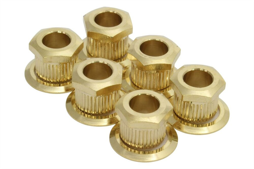 Kluson hex head conversion bushings for mm tuning posts