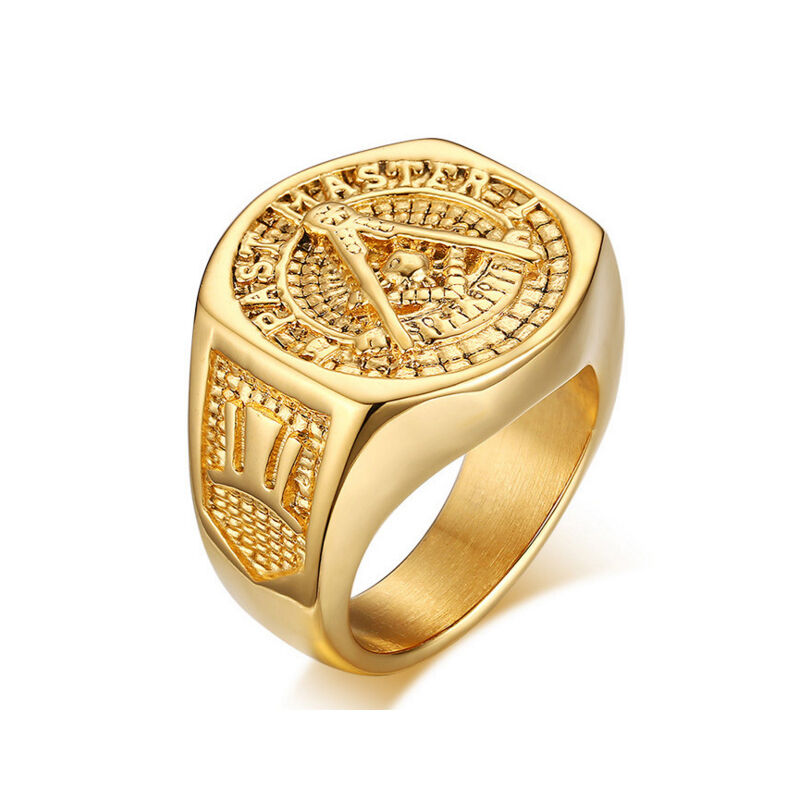 Large vintage ring mens egyptian style ebay for Sell gold jewelry seattle