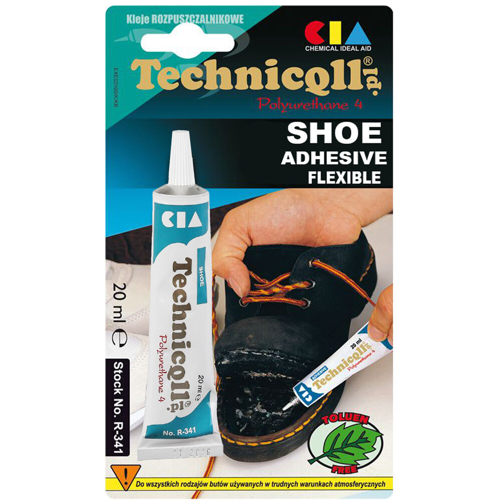 Technicqll Transparent Shoe Glue Rubber Nylon Leather Felt