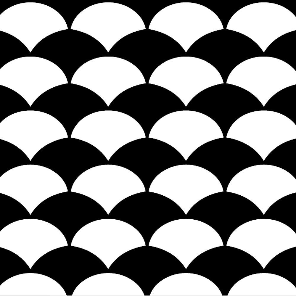 Stencil design fish scale craft template by cutting for Fish scale stencil