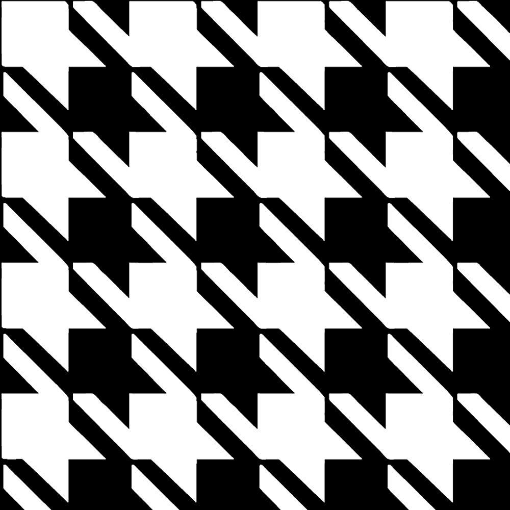 Houndstooth Stencil Design Craft Template By Cutting Edge