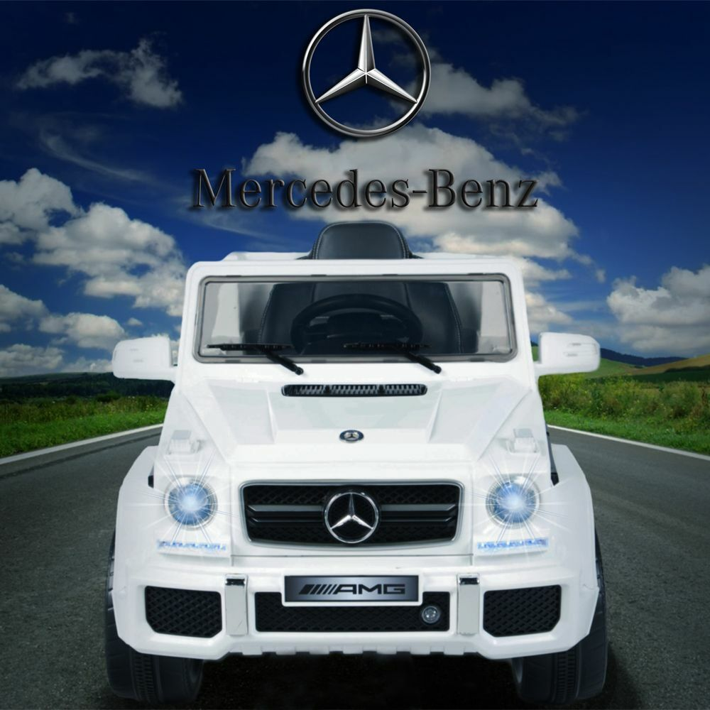kids mercedes benz 12v electric ride on car truck powered. Black Bedroom Furniture Sets. Home Design Ideas