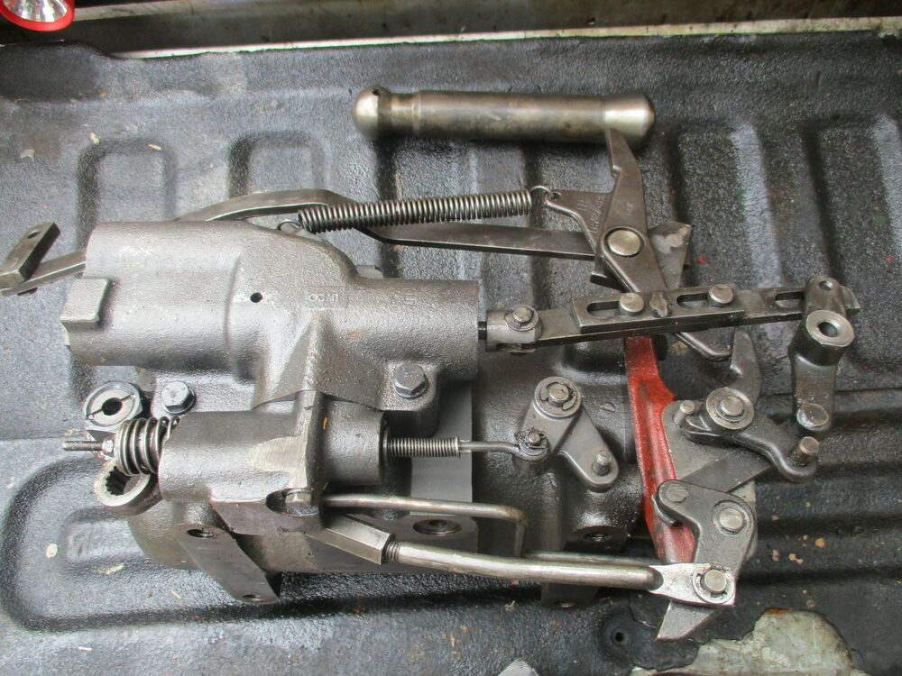 Ford 3 Point Hitch Parts : Farmall gas row crop tractor hydraulic point