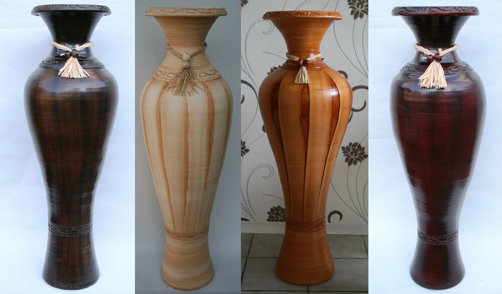 bodenvase vase keramik amphore riesig 100cm mediterran hangefertigt in portugal ebay. Black Bedroom Furniture Sets. Home Design Ideas