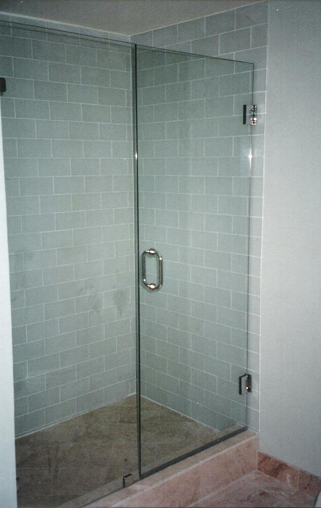 Frameless Shower Door Custom Made To Your Opening 3 8