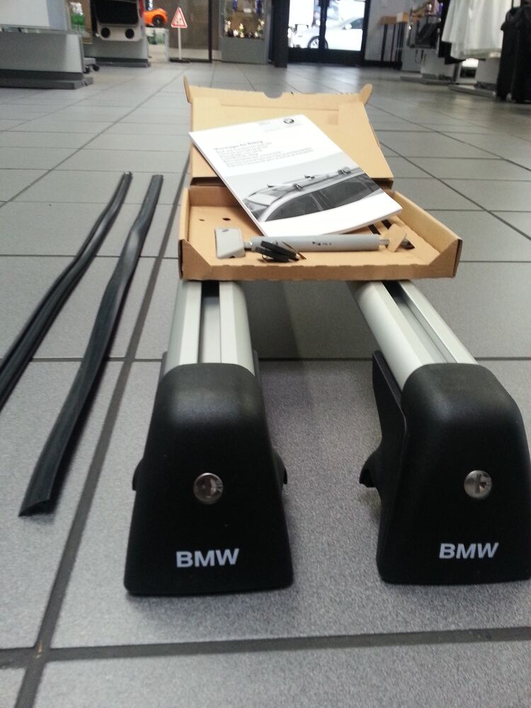 BMW Base Support NEW X5 2014 and up Genuine Roof Rack OEM ...