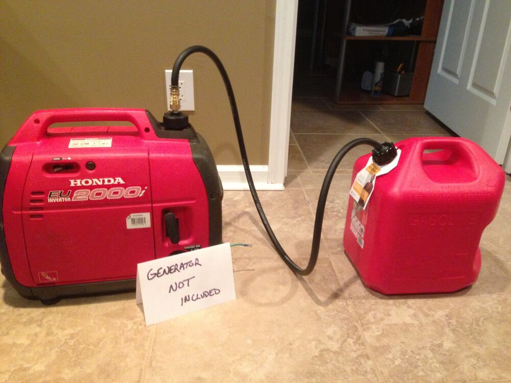 Extended Fuel Kit W 5 Gallon Tank For Honda Generator Ebay