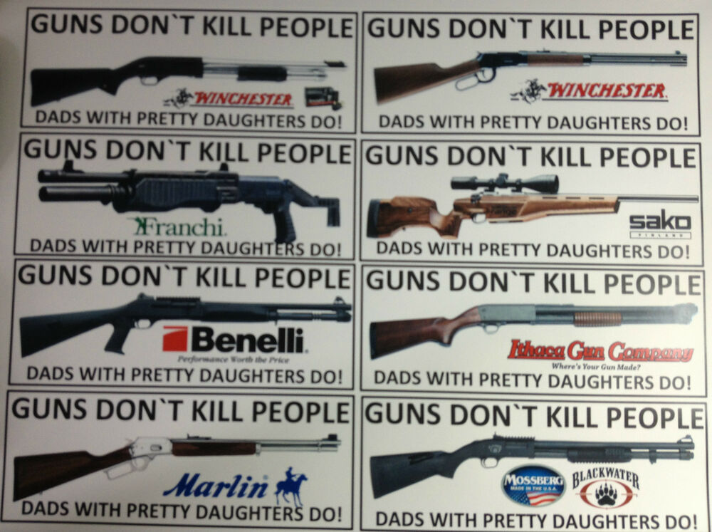 Guns and drugs don t kill people do
