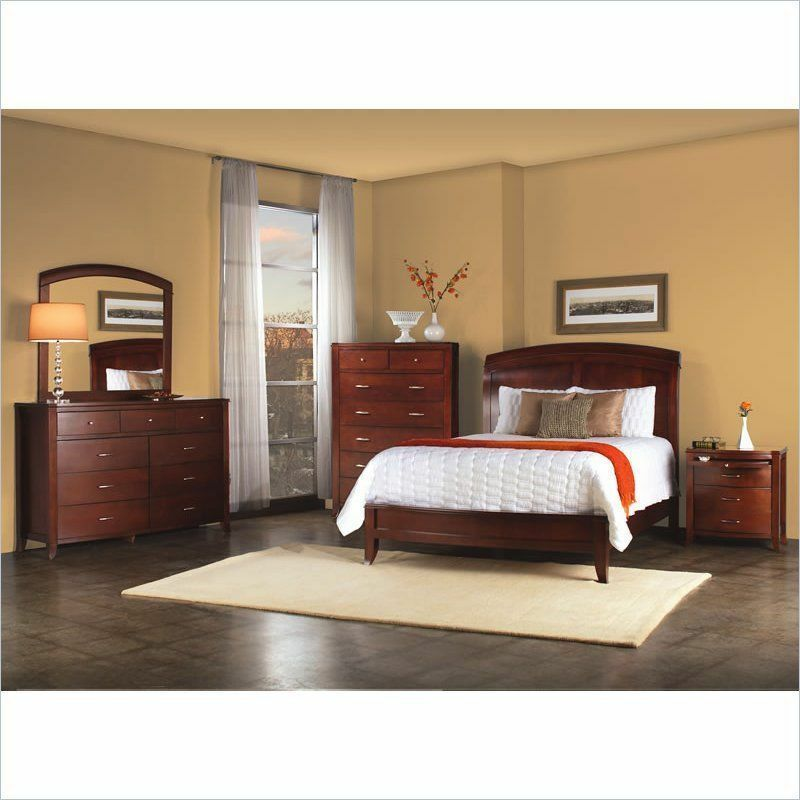 Modus brighton bevelle 6 piece bedroom set brand new free for Bedroom 6 piece set