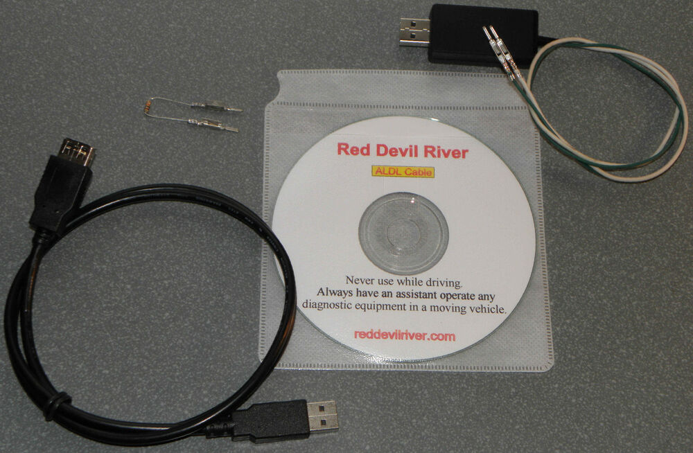 GM OBD1 Scanner Cable & Software - USB to Universal ALDL direct  - GM  OBDI!! | eBay