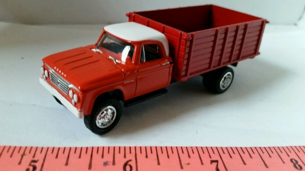 Custom Toy Semi Trucks : Custom ertl farm toy orange white dodge seed