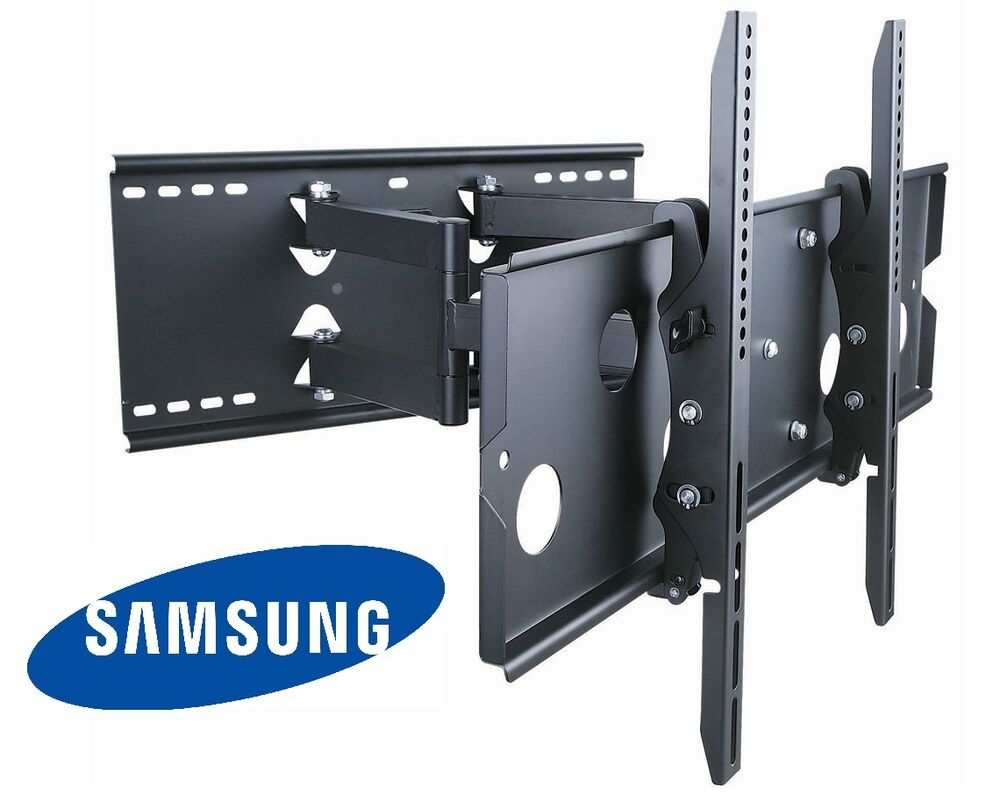 heavy duty full motion tv wall mount 37 42 50 52 55 60 inch samsung lcd led hdtv ebay. Black Bedroom Furniture Sets. Home Design Ideas