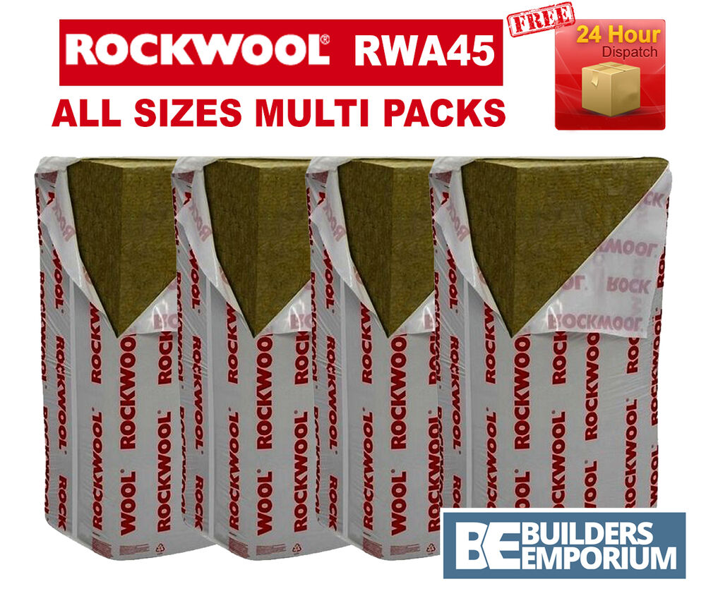 Rockwool Rwa45 Prorox Sl 920 Acoustic Sound Insulation