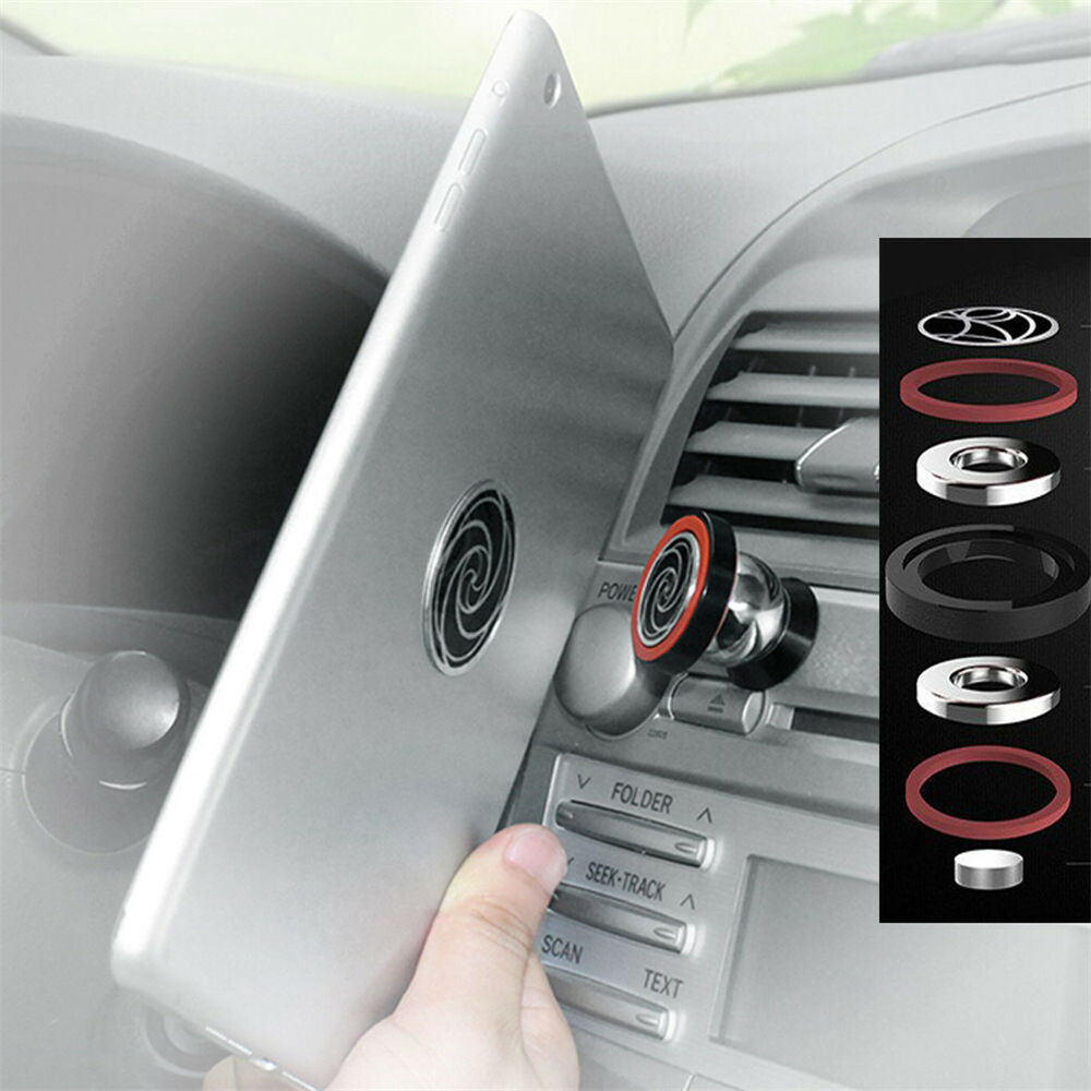 car strong magnetic dash mount holder for ipad 3 4 air nexus galaxy more tablet ebay. Black Bedroom Furniture Sets. Home Design Ideas