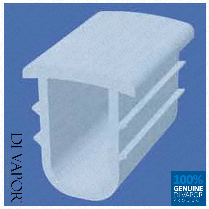 9 5mm Shower Channel Seal For Shower Door Or Tray Screens