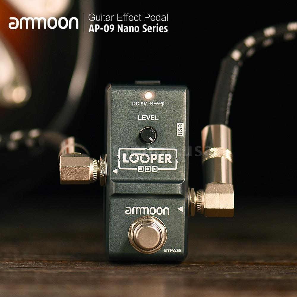 ammoon ap 09 electric guitar effect pedal looper true bypass nano loop o3i1 ebay. Black Bedroom Furniture Sets. Home Design Ideas
