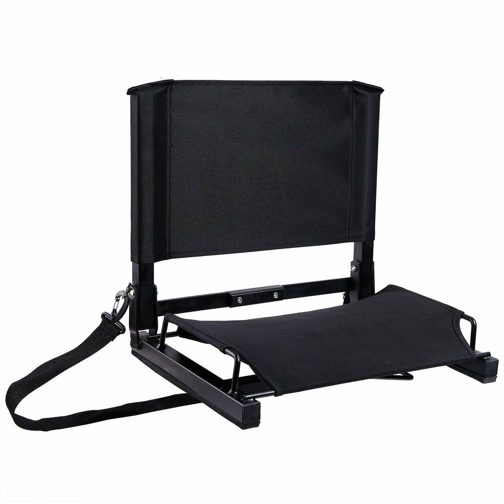 Portable Folding Stadium Seat Back Chair Bum Cushion