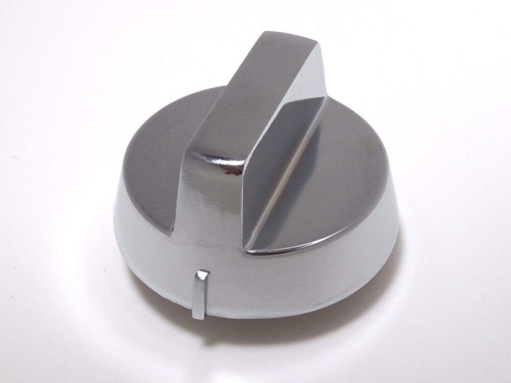 Heavy Duty Replacement Knob For Gas Range Burners Chrome