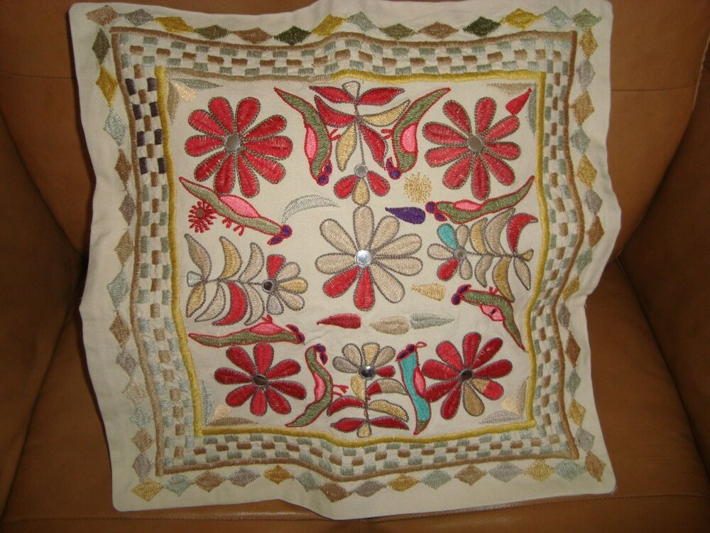 Pottery Barn Nyla Wall Embroidered Tapestry And