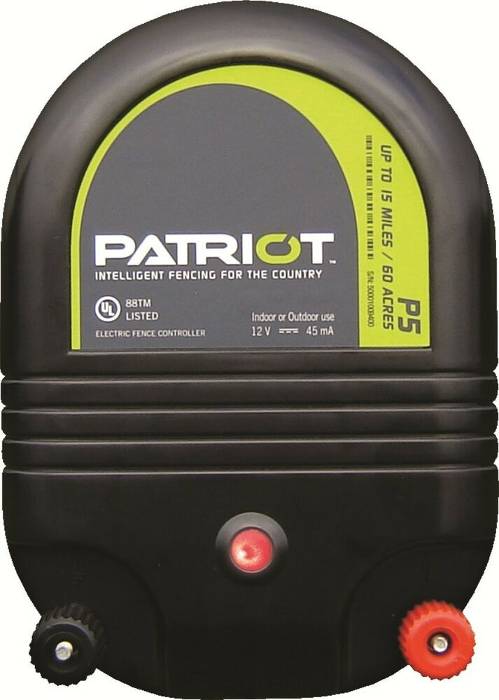 Patriot P5 15 Mile Fence Charger Dual Purpose Ebay