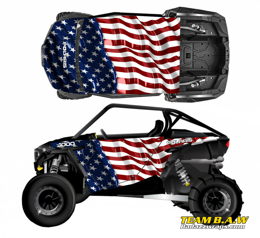 polaris rzr 1000 100xp racing graphic kit decal utv parts. Black Bedroom Furniture Sets. Home Design Ideas