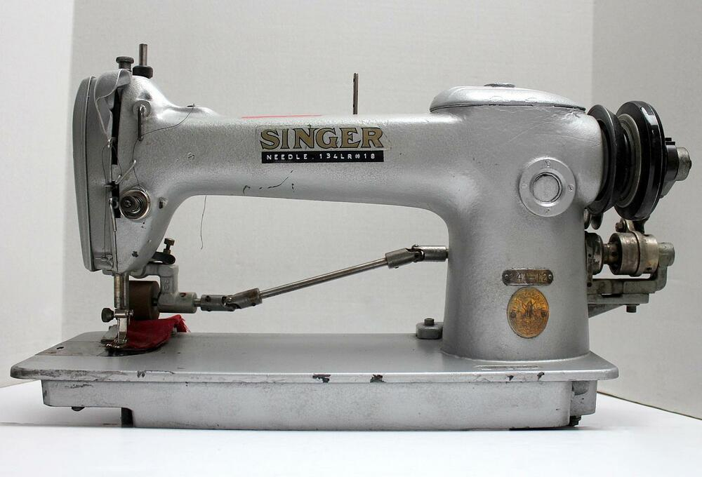 SINGER 241-12 1-Needle Lockstitch Puller Industrial Sewing ...