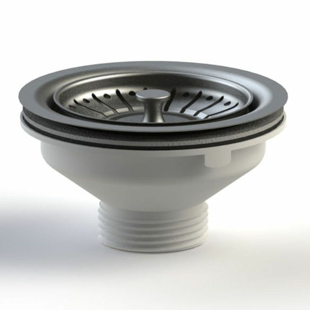 Kitchen Sink Basket Strainer Waste Plug