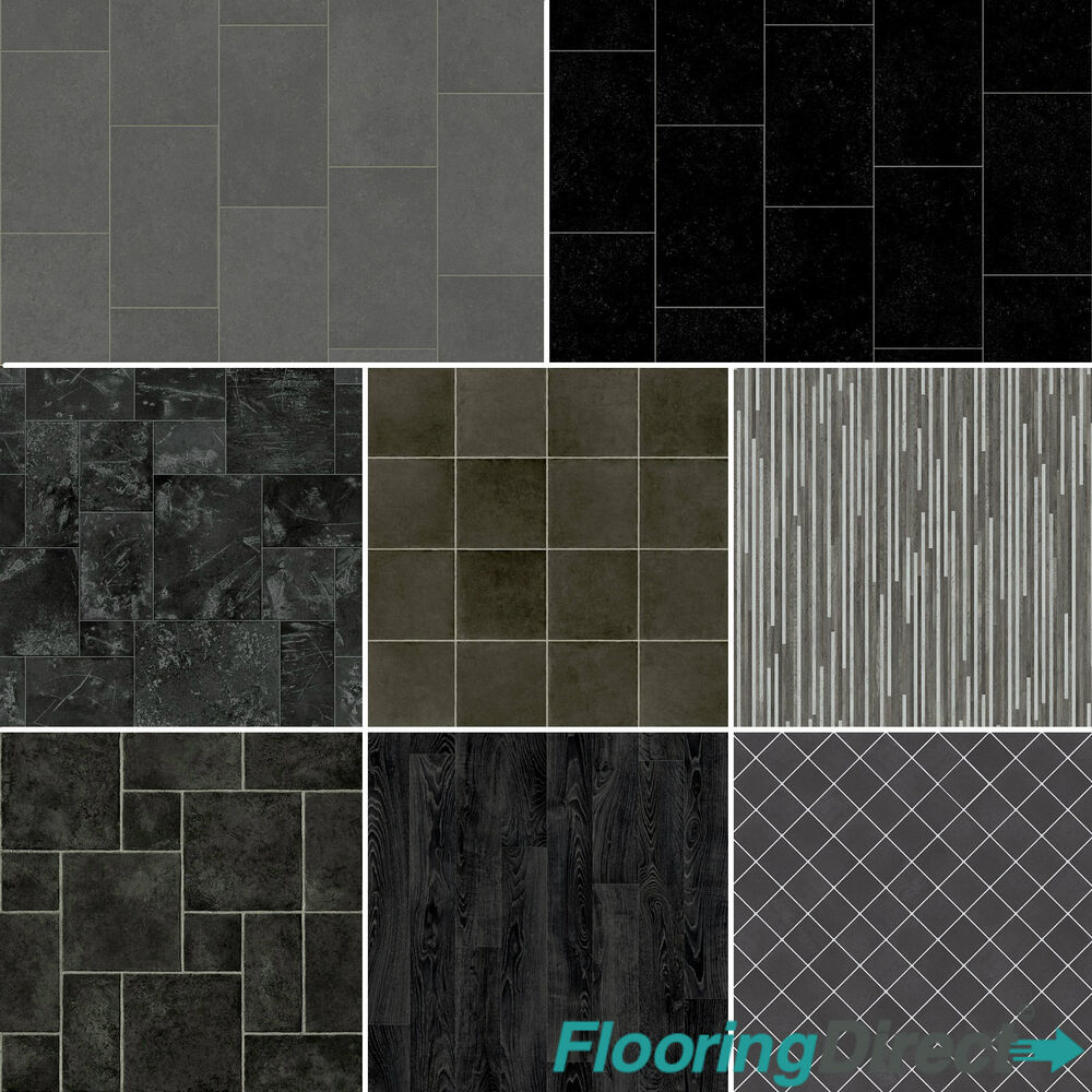 Lino vinyl flooring stone slate tiles wood new designs for Cheap vinyl floor tiles