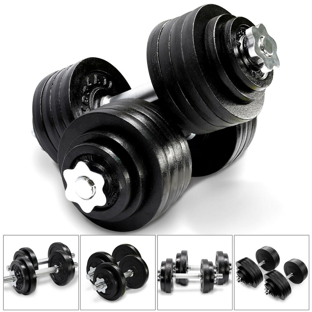 Adjustable 200 Lb Dumbbells: Yes4All Cast Iron Adjustable Dumbbell Weight Set, 40 To