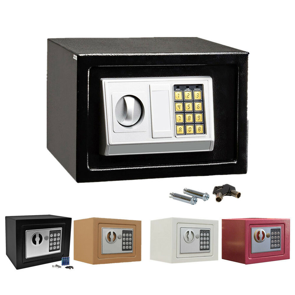 electronic digital safe box keypad lock security home office cash jewelry gun bh ebay. Black Bedroom Furniture Sets. Home Design Ideas