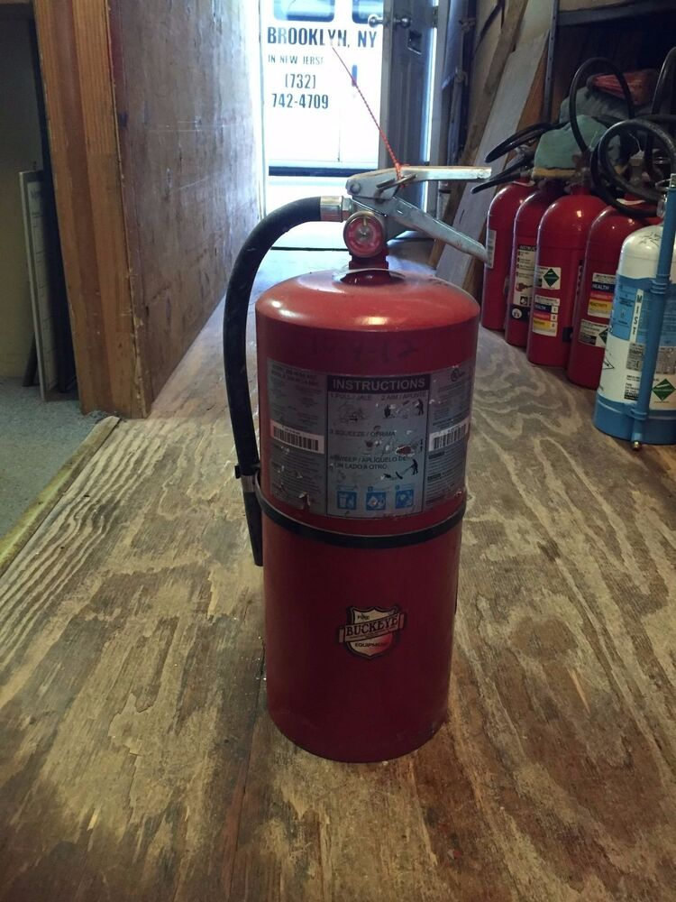 fire extinguisher 20lb abc dry chemical ebay. Black Bedroom Furniture Sets. Home Design Ideas
