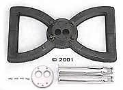 Broilmaster Gas Grill Cast Iron Bow Tie Gas Burner Post for G3 series grills New