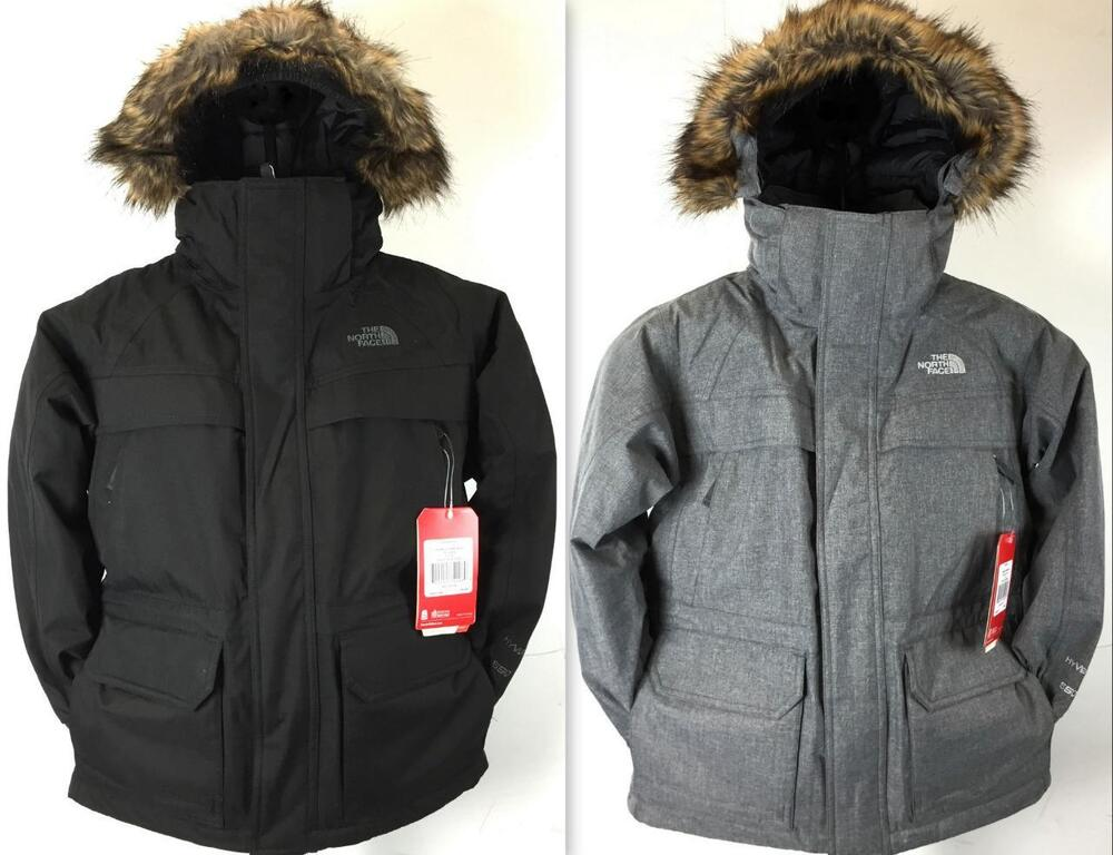 New Boy's The North Face Mcmurdo Parka Jacket 550 Fill Goose Down ...