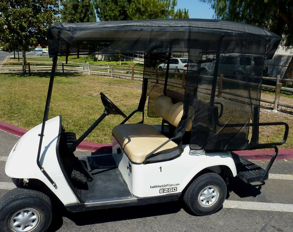 golf cart sun shade cover for 4 seater golf cart roof up. Black Bedroom Furniture Sets. Home Design Ideas