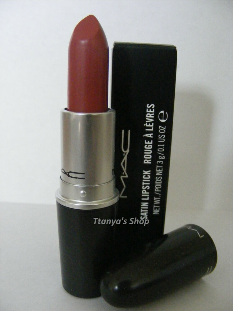 Mac Cosmetic Lipstick Fresh Brew 100 Authentic: Mac Lipstick TWIG 100% Authentic Brand New Boxed