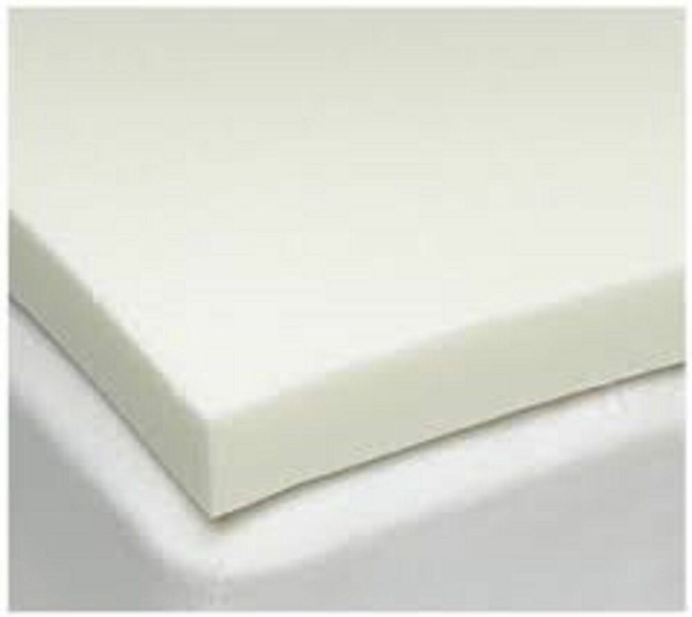 Memory foam mattress topper double single super king size orthopaedic 1 2 inch ebay Memory foam king size mattress
