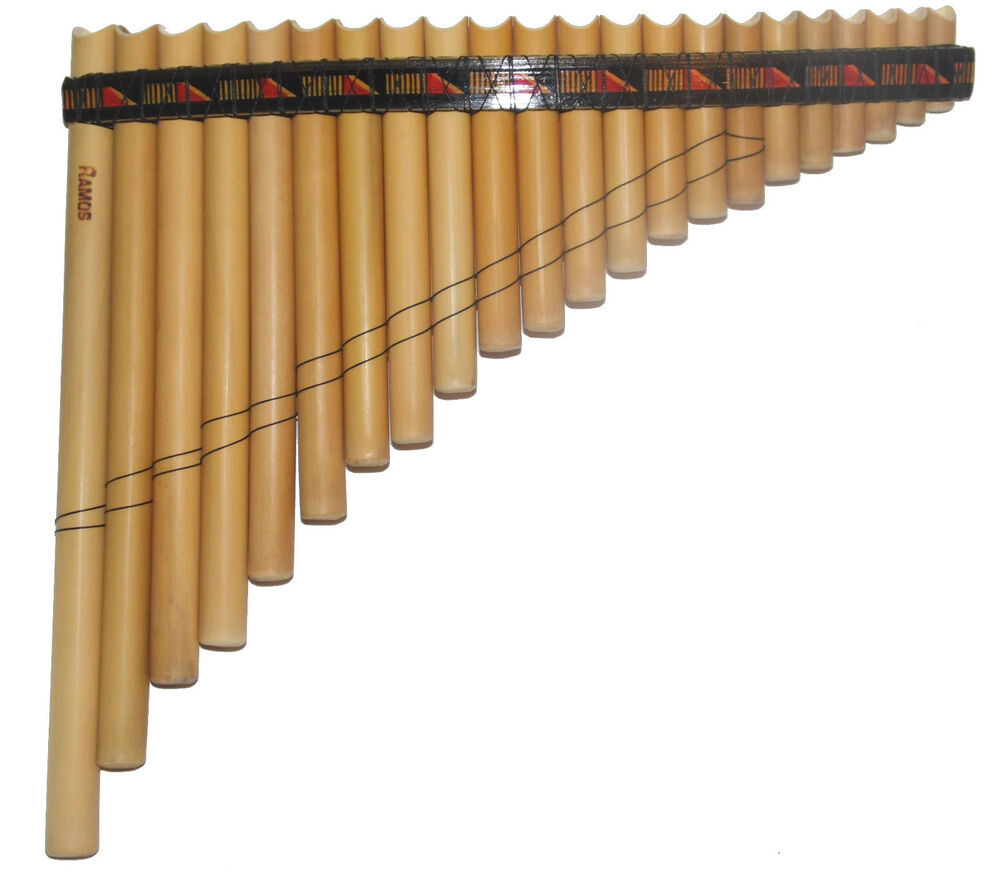 PROFESSIONAL ANTARA PAN FLUTE-22 PIPES -SEE VIDEO -FROM