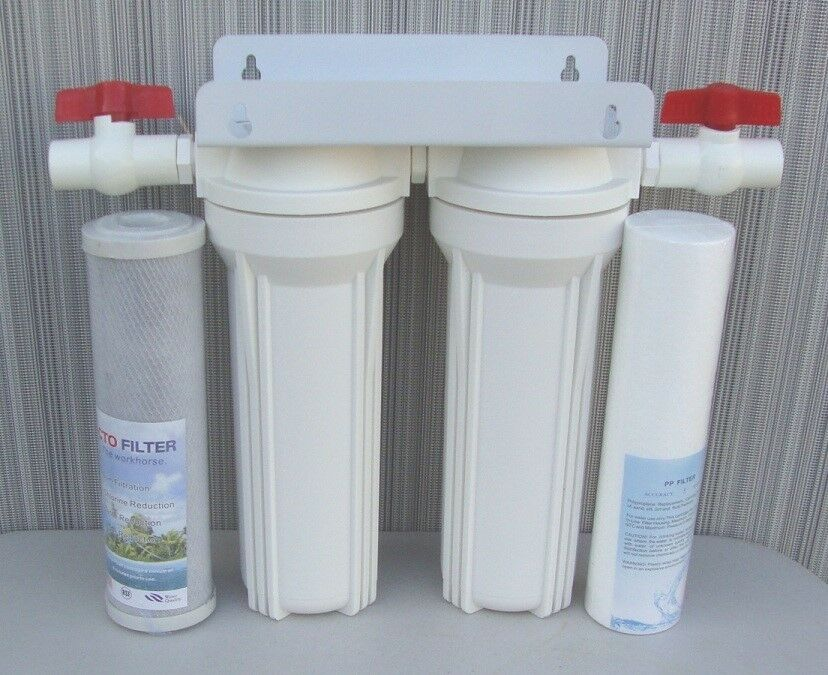 10 Quot Whole House 2 Stage Filtration Water System Remove