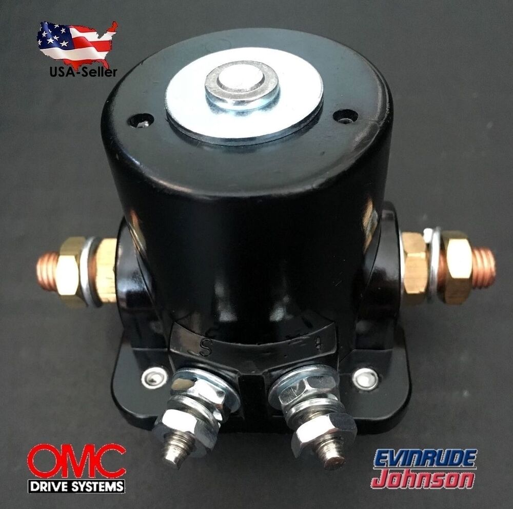 NEW STARTER SOLENOID SWITCH RELAY For Johnson OMC Evinrude