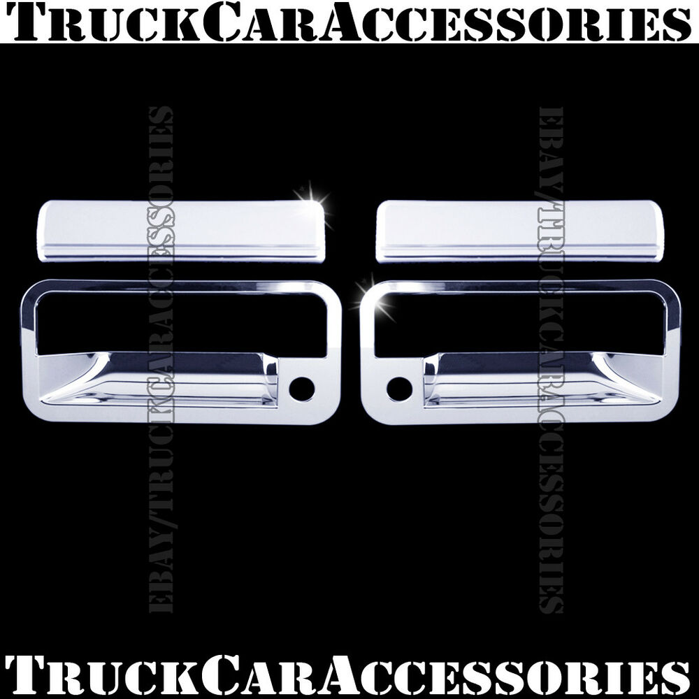 For Chevy Tahoe 1995 1996 1997 1998 1999 Chrome 2 Doors
