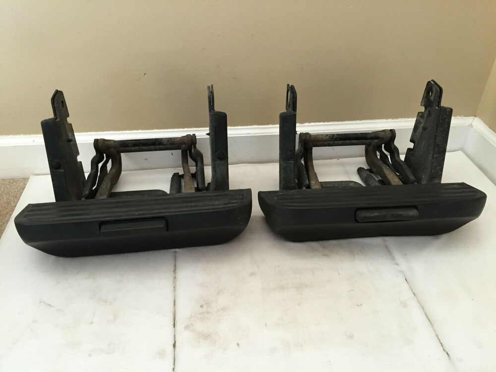 Pair Of 2009 Ford F150 Retractable Side Steps For 6 5 Box
