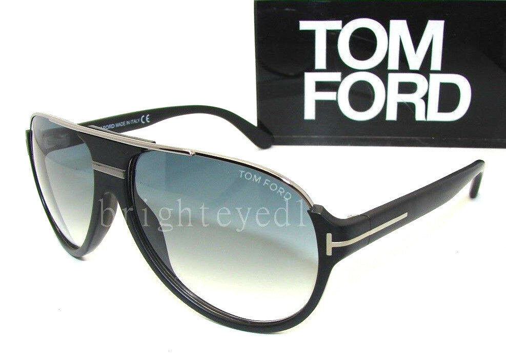Authentic TOM FORD Dimitry Aviator Sunglasses FT 334