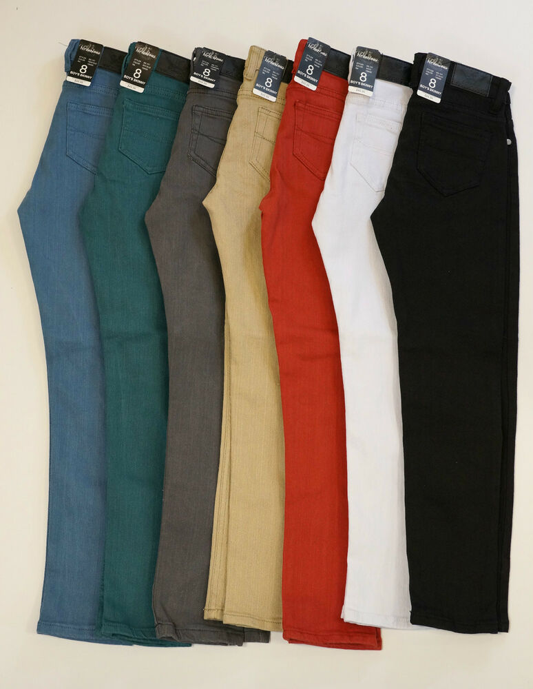 Their standard size chart provides a guide for 2T through size waist boys' and young men's clothing using height, chest, waist, hip, and inseam measurements and includes both alphabetical and numerical sizes.
