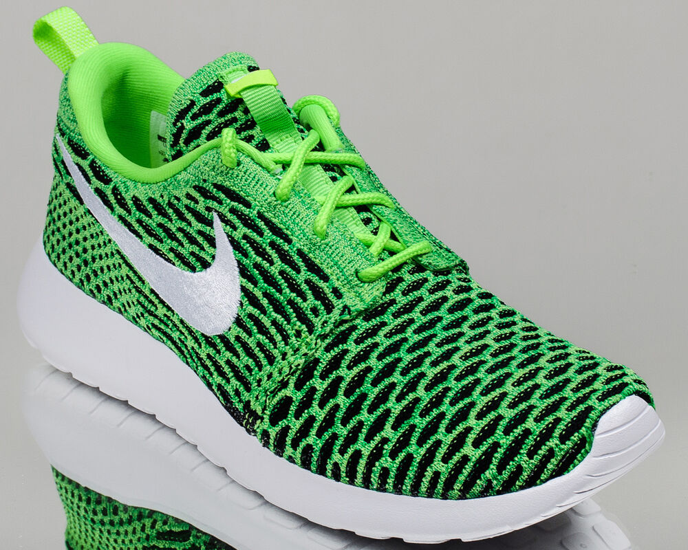 Nike WMNS Roshe One Flyknit women lifestyle sneakers rosherun NEW voltage green