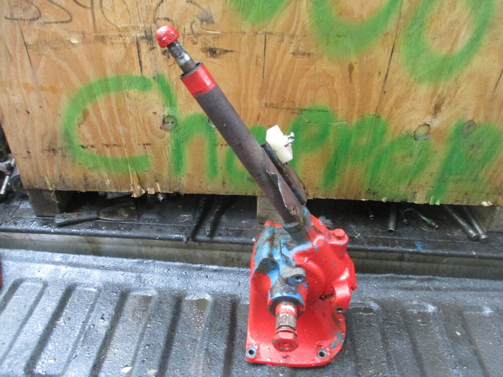 601 Ford Tractor Steering Sector : Ford selectospeed gas tractor steering gear box